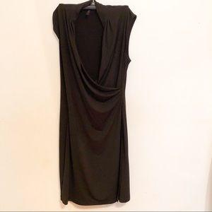 BCBG MaxAzria Faux wrap dress